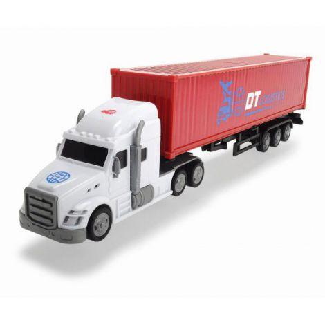Dickie Camion Container Cu Remorca 42 Cm imagine