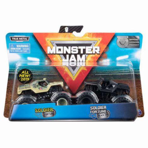 Monster Jam Set 2 Machete Soldier Fortune Si Soldier Black Ops