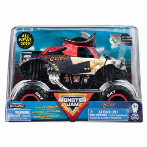 Monster Jam Machete Metalice Scara 1 La 24 Blestemul Piratilor
