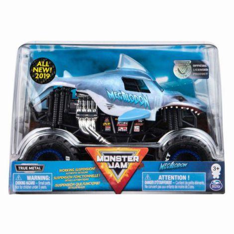 Monster Jam Machete Metalice Scara 1 La 24 Megalodon