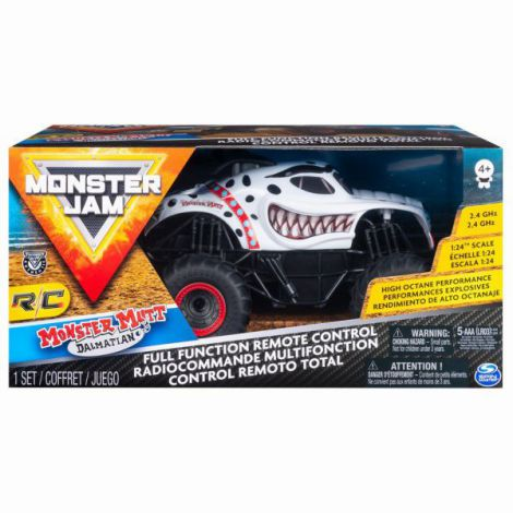 Monster Jam Rc Masinuta Dalmatianul 1:24