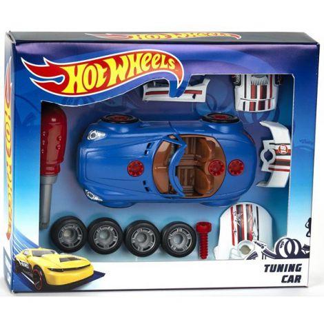 Set masina cu accesorii tuning Hot Wheels