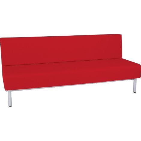 Canapea 3 locuri Inflamea 1 rosu inchis