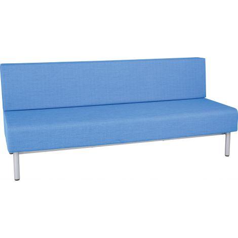 Canapea 3 locuri Inflamea 2 albastru deschis