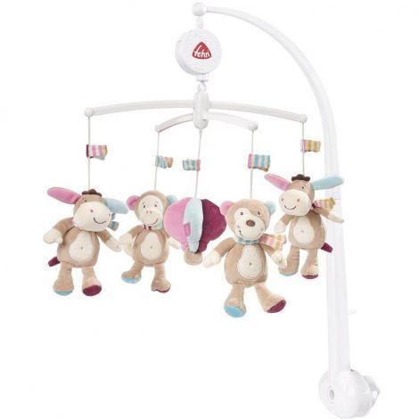 Carusel muzical mobil- magarus pastel