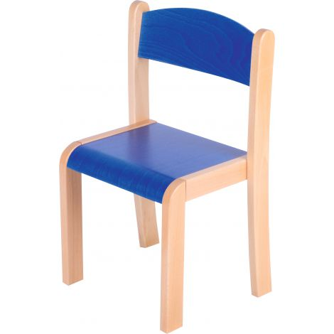 Scaun albastru marime 4