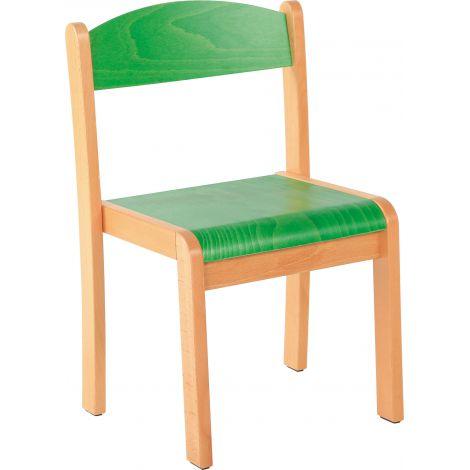 Scaun verde marime 1 cu protectie fetru