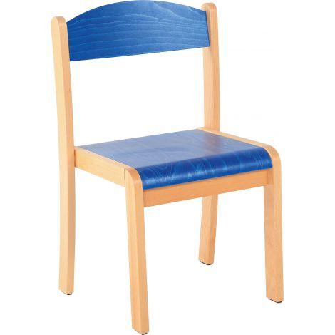 Scaun albastru marime 1 cu protectie fetru
