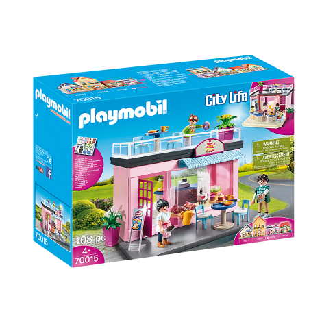Cafeneaua Playmobil 70015