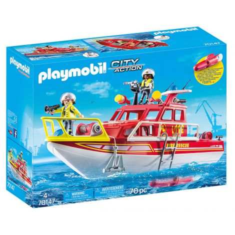 Barca De Salvare A Pompierilor imagine