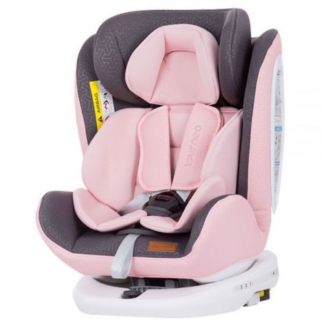 Scaun auto Chipolino Tourneo 0-36 kg baby pink cu sistem Isofix