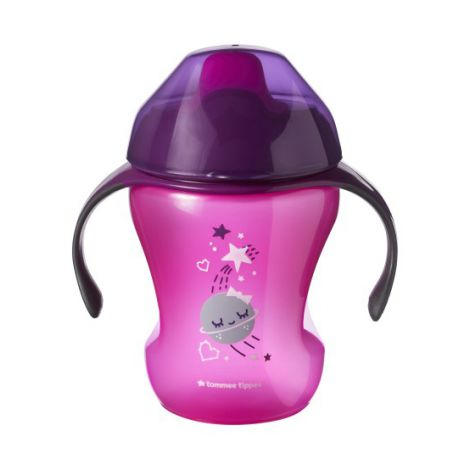 Cana Easy Drink, Tommee Tippee, 260 ml, 6luni+, Mov