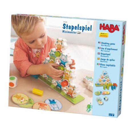 Joc de constructie, Haba, Mini Monsters, 2ani+