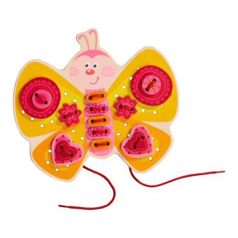 Joc de indemanare cu 2 fete, Haba, Butterfly, 3ani+
