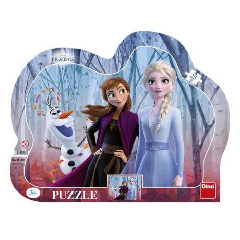 Puzzle Cu Rama - Frozen Ii (25 Piese) imagine