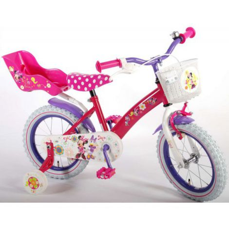Bicicleta e-l minnie mouse
