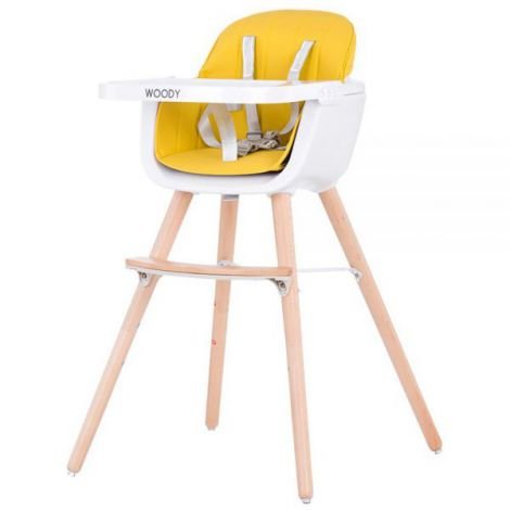 Scaun de masa Chipolino Woody yellow