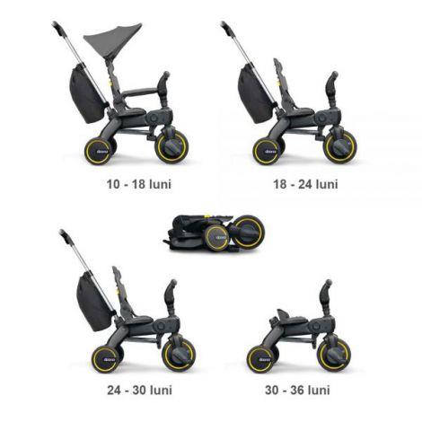 Tricicleta Liki Trike S5 Nitro Black