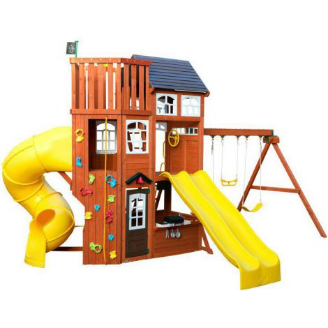 Complex de joaca din lemn Lookout Extreme Kidkraft
