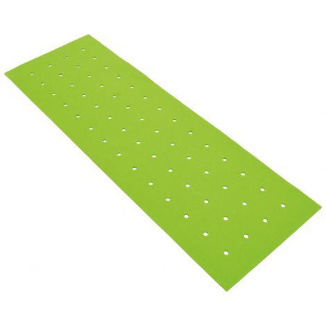 Panou Rectangular Verde Cu Gauri Pentru Reducerea Zgomotului In Clasa imagine