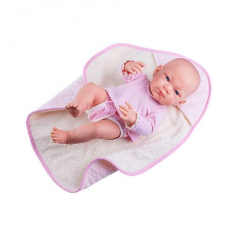 Bebelus fetita cu paturica roz - PIKOLIN, Paola Reina