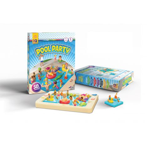 IQ Booster - Pool Party Editie in romana