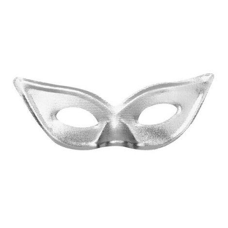 Masca petrecere argintie