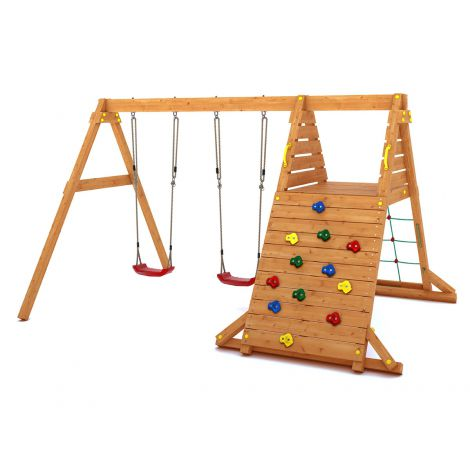 Complex de joaca din lemn Fungoo Spider King 02990