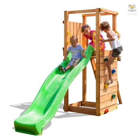 Complex de joaca din lemn Fungoo TipTop