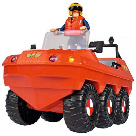 Masina De Pompieri Simba Fireman Sam, Sam Hydrus Cu Figurina Si Accesorii imagine