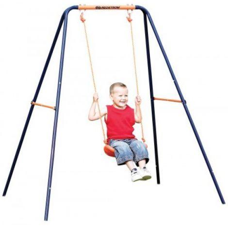 Leagan 2 in 1 pentru bebelusi si copii 08835 MVS pentru exterior din metal