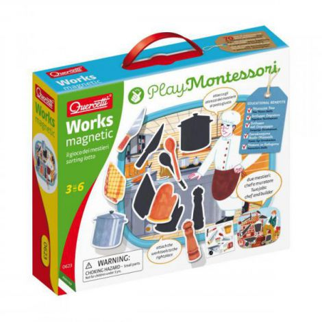 Puzzle magnetic Montessori