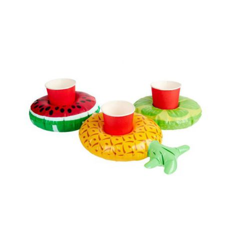 Suport Bauturi Gonflabil Fructe 3 Buc - Marimea 158 Cm imagine