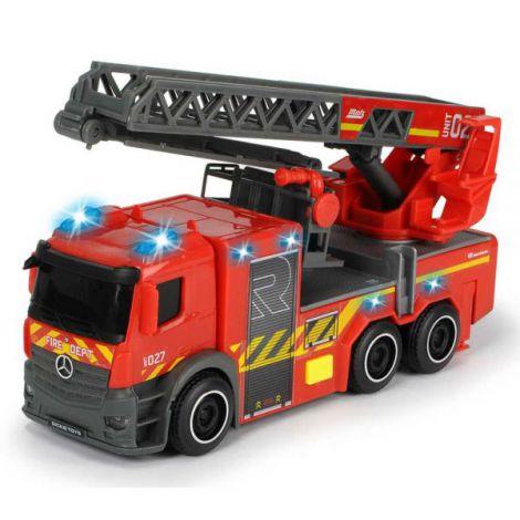 Masina De Pompieri Dickie Toys Mercedes-Benz City Fire Ladder imagine