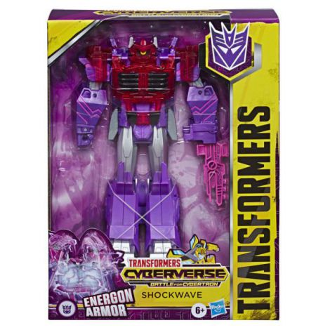Transformers Ultimate Conversie Rapida Shockwave