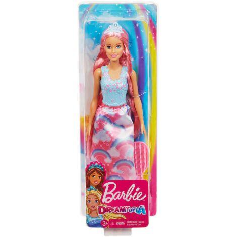 Barbie Barbie Printesa Cu Rochita Curcubeu