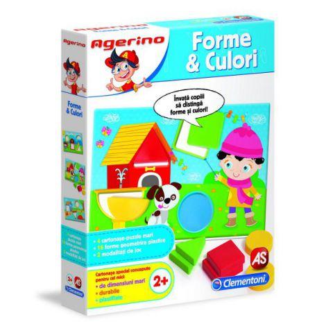 Joc Educativ Agerino Forme Si Culori imagine