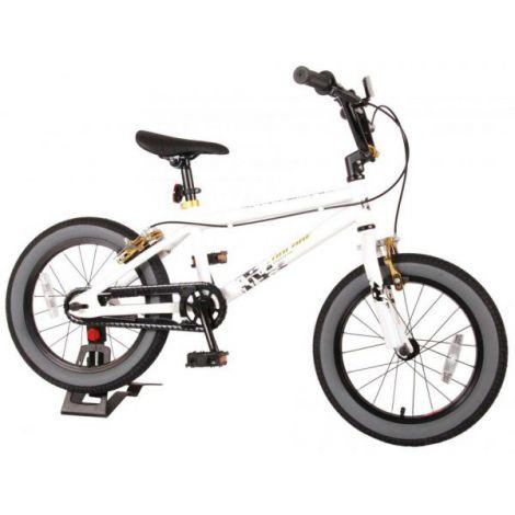 Bicicleta e-l cool rider 16 inch alba