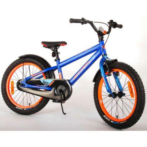 Bicicleta e-l rocky 18 inch albastra