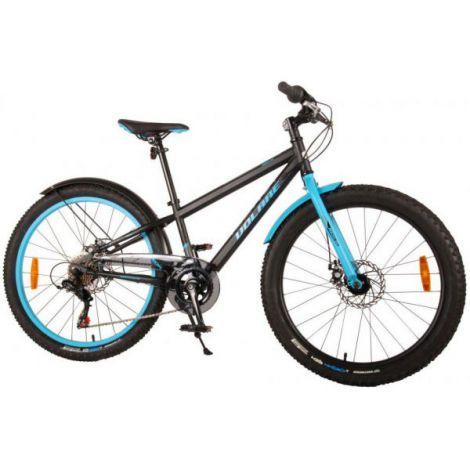 Bicicleta e-l rocky 24 inch 6 viteze, albastra
