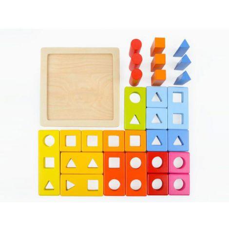 Joc De Potrivire - Primele Mele Forme Geometrice imagine