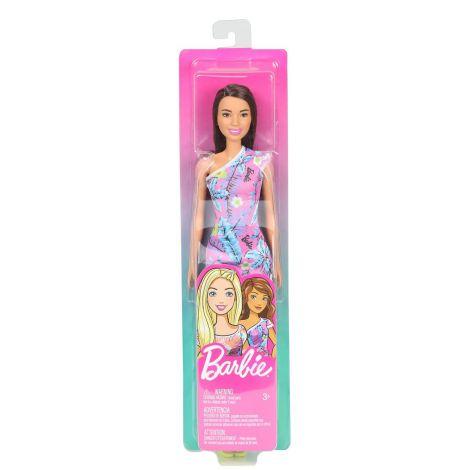 Papuasa Barbie Bruneta Cu Tinuta Lejera