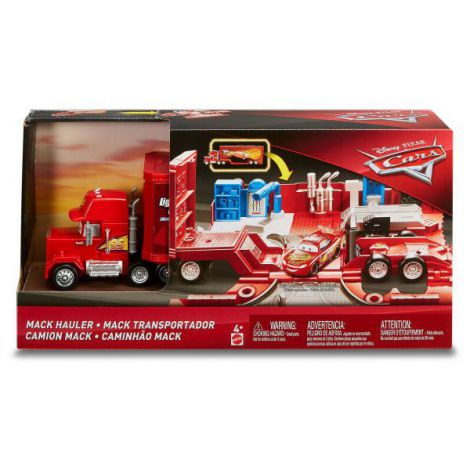 Cars Set De Joaca Mack Mega Transportatorul Lui Fulger Mcqueen imagine