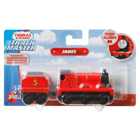 Thomas Locomotiva Cu Vagon Push Along James