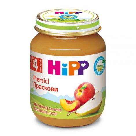 Piure HiPP piersici 125g