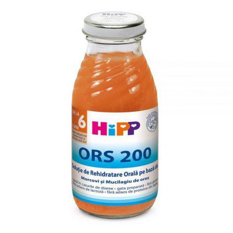 Solutie HiPP rehidratare orala 200ml
