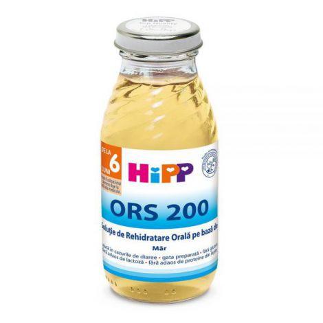 Solutie HiPP rehidratare orala pe baza de mar 200ml