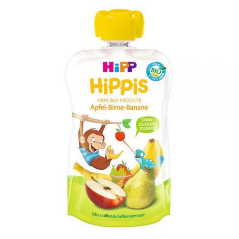 Piure HiPP Hippis mar, para, banana 100g