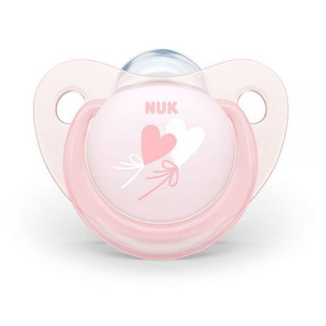 Suzeta Nuk Baby Rose Silicon M2 Baloane 6-18 luni