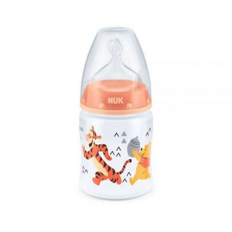 Biberon Nuk First Choice 150 ml Tetina Silicon Disney Orange 0-6 luni